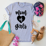 Mom of Girls Tee