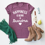 Happiness Is Being A Grandma tee