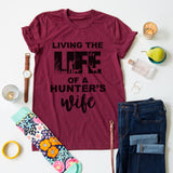Hunter's Wife tee
