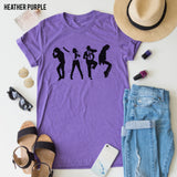 King Of Pop Silhouette tee