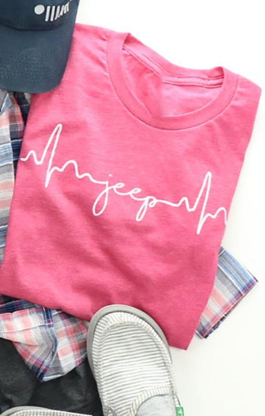 Jeep Heartbeat Tee