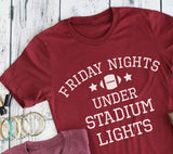 Friday Nights Under Stadium Lights tee