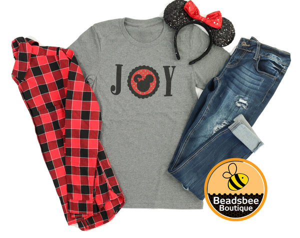 Holiday JOY Minnie Tee