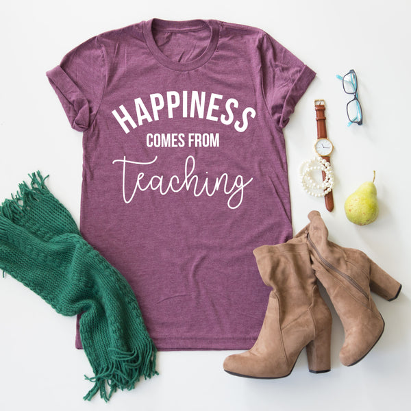 Happiness Comes From Teaching