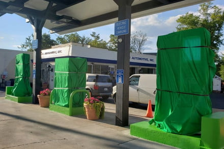 Maryland gas station becomes first in U.S