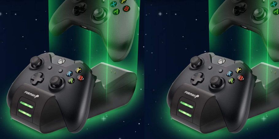 SF Planet (99% positive feedback in the last 12 months) via Amazon is offering the Fosmon Dual Xbox Controller Charger for $11.99 with free shipping for Prime members or in orders over $25