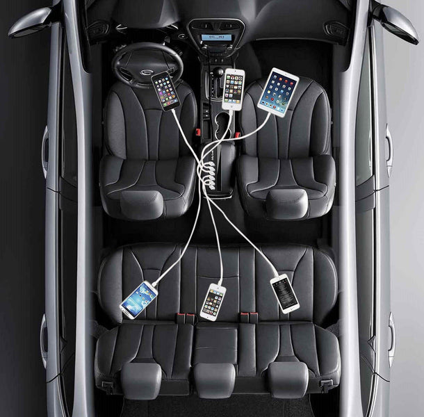 Turn Your Car Into a Charging Station With a Multiport Car Charger