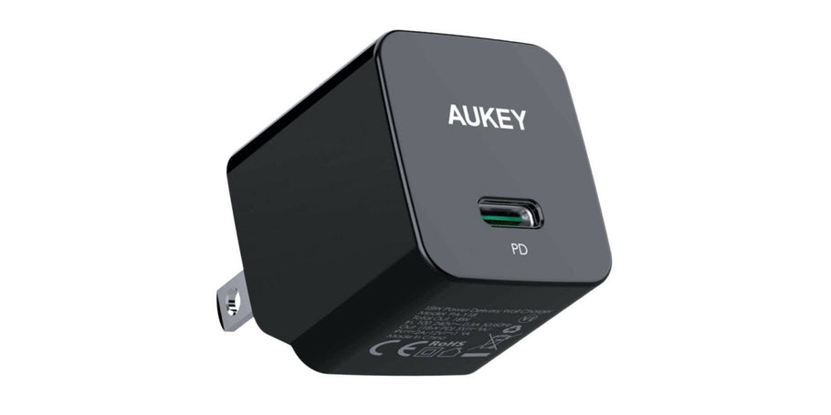 STSS (an Aukey Direct affiliated retailer) via Amazon offers the new 18W USB-C Compact Wall Charger for $10.79 Prime shipped when clipping the on-page coupon