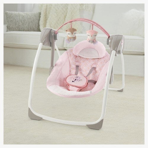 Modern Contemporary Portable Baby Swing
