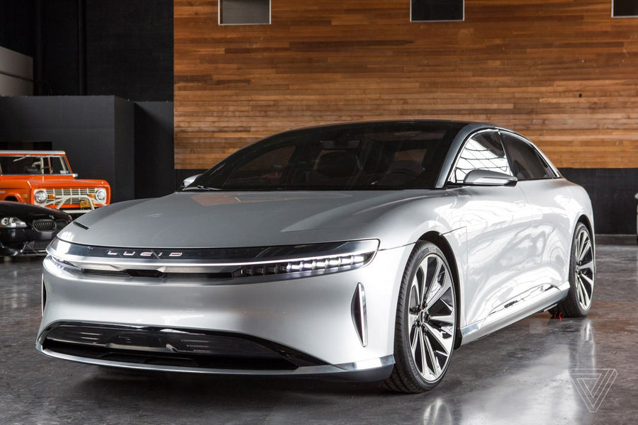 Lucid Motors boasts it will have 'the fastest charging electric vehicle ever offered'