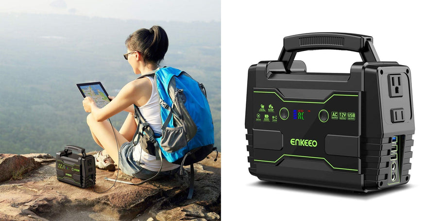 ENKEEO (99% positive lifetime feedback) via Amazon is offering its 155Wh Portable Power Station for $87.09 shipped when the code 33QXEJAA is used at checkout