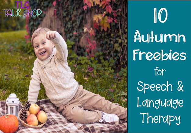 10 Autumn Freebies for Speech and Language Therapy