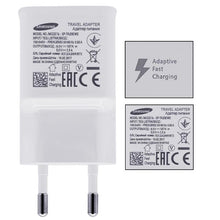 Load image into Gallery viewer, 100% Original Samsung Fast Charger Galaxy Note4 5 S7 6 edge Adaptive Quick Charge 9V1.67A&5V2A 1.5M Micro USB Cable wall charger
