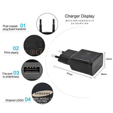 Load image into Gallery viewer, 100% Original Samsung Galaxy S8 S8 plus Fast Charger Type-C Adaptive Quick Charger EU/US/KU note 8 Travel Charging 9V 1.67A&5V2A