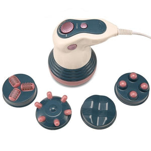 4 In 1 Electric Infrared Full Body Massager Tools Weight Loss Anti Cellulite Slimming Machine Relaxation