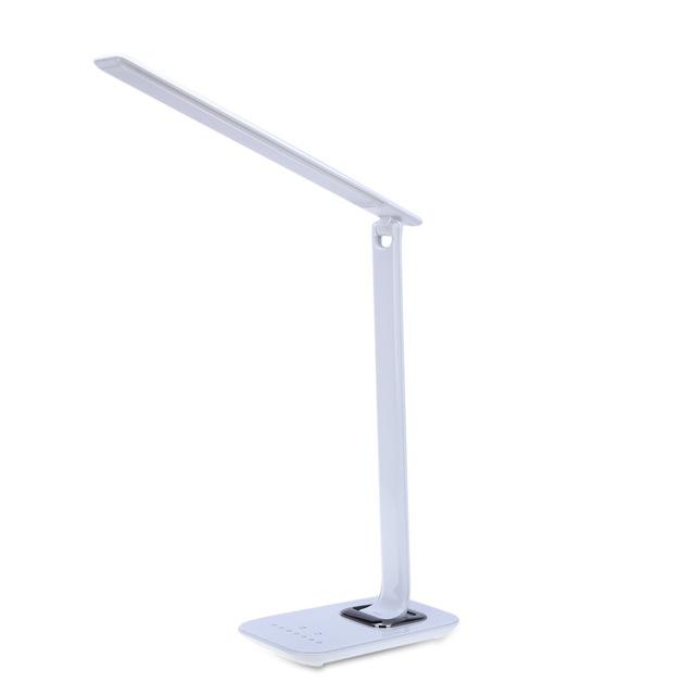 12W 72pcs LED Desk Lamp Foldable Dimmable Rotatable LED Touch-Sensitive Controller USB Charging Port Table Lamp Charger Lamp