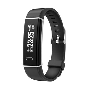 Bakeey Q01 Real-time Heart Rate Sleep Monitor Message Caller Display USB Direct Charging Smart Watch