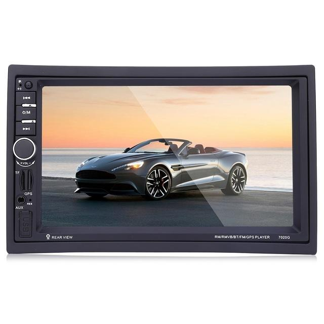 2 DIN Car DVD Video Player Touch Screen GPS Navigation 1080P HD Player USB MP4/MP5 Bluetooth Support Rear View Reverse Univeral
