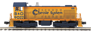 "MTH 20-20897-1 - Alco S-2 Switcher Diesel Engine ""Chessie"" #9022 w/ PS3"