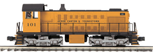 "MTH 20-20899-1 - Alco S-2 Switcher Diesel Engine ""Akron Canton & Youngstown"" #101 w/ PS3"