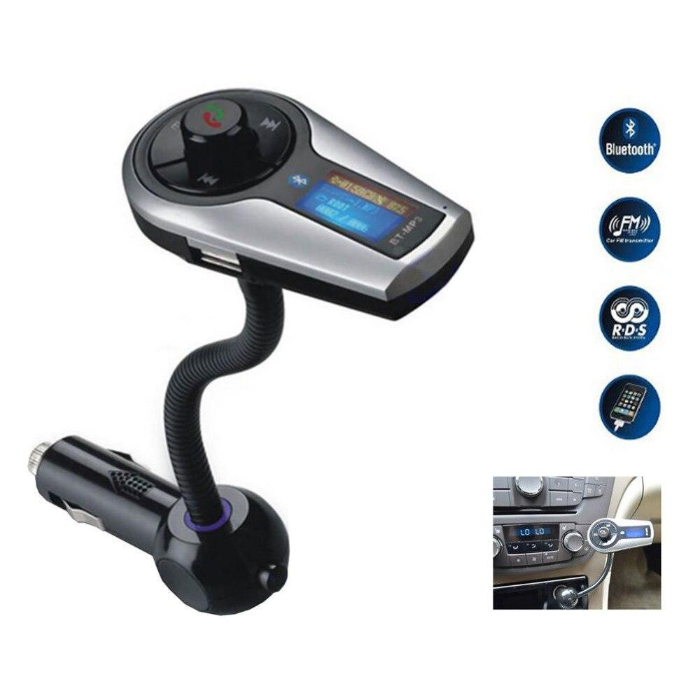2015 NEW Wireless Bluetooth LCD Car Kit MP3 Player Car Radio Stereo cahrger with FM Transmitter Modulator+ USB SD+Remote Control