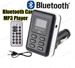 2016 New Arrival Bluetooth Car Kit 180 Degree FM Transmitter With USB Charger MP3 Player