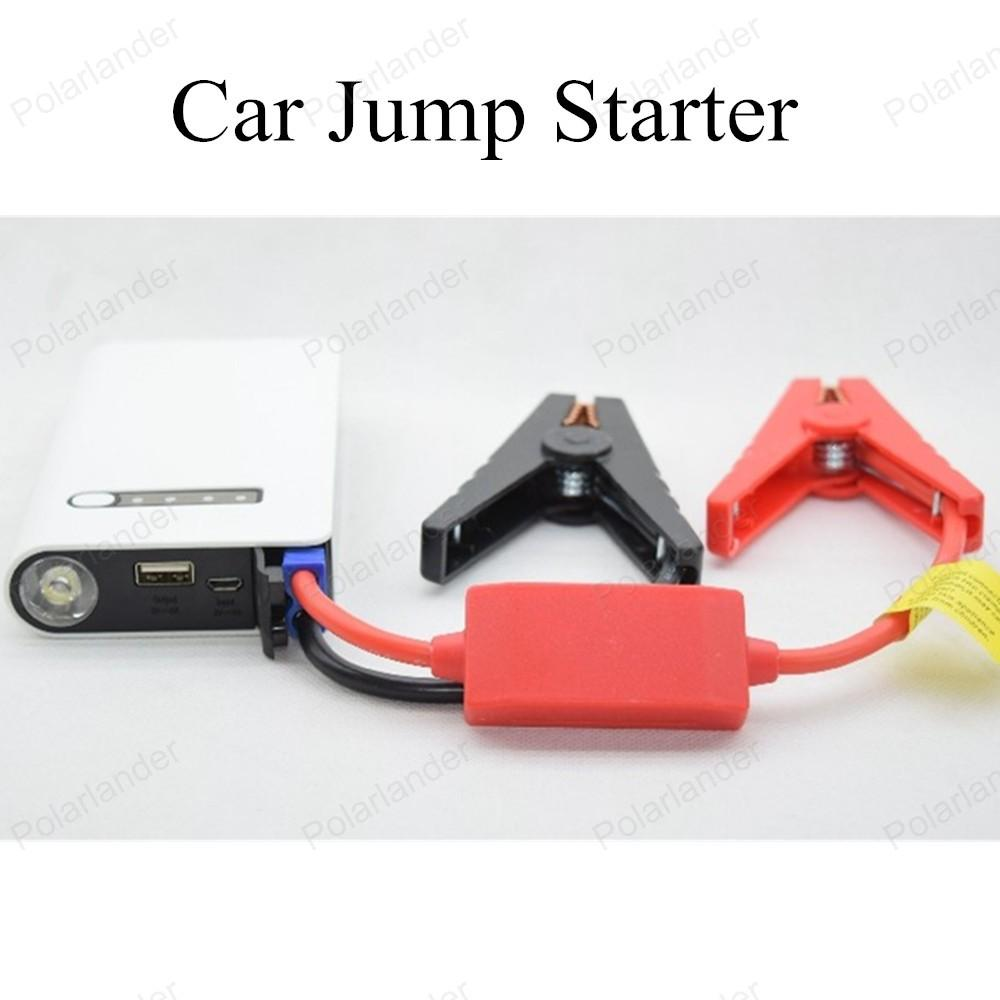 2016 New Mini Portable Car Jump Starter Emergency Start 12V 10000mAh Engine Multi-Function Power Bank Battery Charger