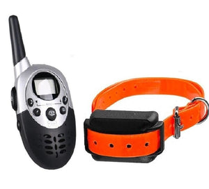 2017 800M HM86 Pet Dog Training Trainer Collar Electric Shock Collar Waterproof Rechargeable LCD Large Remote Control for 1 Dog