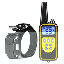 Load image into Gallery viewer, 800m Waterproof Rechargeable Remote Control Dog Electric Training Collar