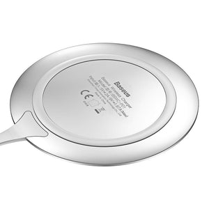 Baseus BSWC - P01 Metal Wireless Charger Zinc Alloy 10W