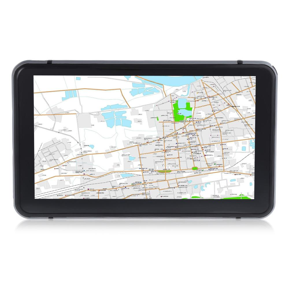 706 7 inch Car GPS Navigator with Free Maps Win CE 6.0 Touch Screen Player