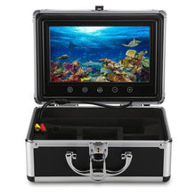 Load image into Gallery viewer, 9 inch Monitor 15M 1000TVL Fish Finder Underwater Fishing Camera 30pcs LEDs