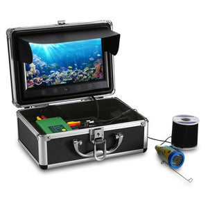 9 inch Monitor 15M 1000TVL Fish Finder Underwater Fishing Camera 30pcs LEDs