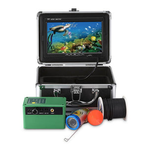 1000TVL Underwater Fish Finder Fishing Camera 7.0 inch Display