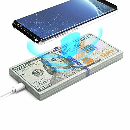 Bakeey AW01 Qi Wireless Dollars Money Desktop Fast Charger for iPhone 8 X Plus Samsung S8