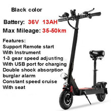 Load image into Gallery viewer, 36V 13AH Electric Scooter 8 inch Wheel Easy Folding E-Scooter 350W Electric Skateboard Mini Electric Bicycle Max Mileage 35-50km