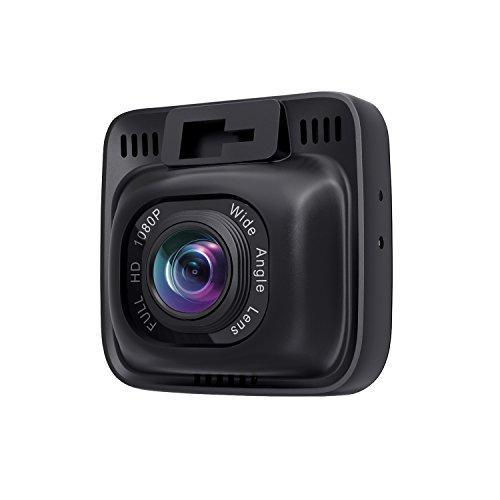 AUKEY Dash Cam, Dashboard Camera Recorder with Full HD 1080P, 6-Lane 170° Wide Angle Lens, 2