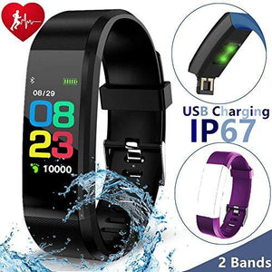1.3  Sport Smart Watch Ip67 Waterproof Fitness Tracker With Blood Pressure Heart Rate Monitor For Men Women Activity Tracker Kid Pedometer (50% Sport Bracelet-2)