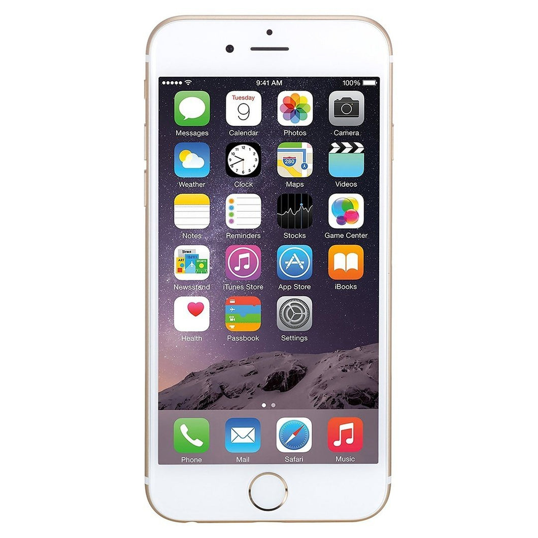 Apple iPhone 6 Unlocked GSM 4G LTE Dual-Core Phone w/ 8MP Camera (Refurbished) - 4DS-170ARIP
