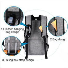 Load image into Gallery viewer, Men's Business Student Outdoor Backpack