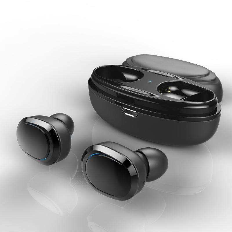 Bluetooth Sweatproof  Sport Earbuds with Mic and Charging Case for iPhone Android