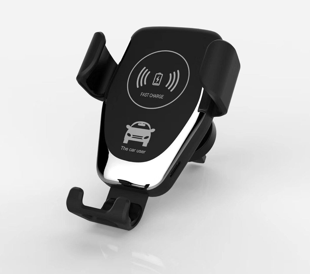 10W QI Wireless Charging for Samsung Galaxy S10 S9 S8 S6 S7 Edge Car Phone Holder for IPhone X XS MAX XR 8 Plus Wireless Charger