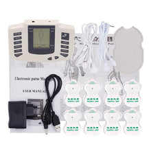 Load image into Gallery viewer, Beurha Electrical Muscle Stimulator Russian Button Therapy Massager Pulse Tens Acupuncture Full Body Massage Relax Care 16 Pads