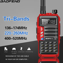 Load image into Gallery viewer, 2019 BaoFeng UV-S9 High Power 8Watts Portable Walkie Talkie 10km Long Range CB Radio Transceiver for