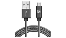 Load image into Gallery viewer, 4 Pack: Durable Nylon Braided Tangle Free Micro USB Android Charging Cables (10Ft Length) - Choice of 4 Colors - Ships Same/Next Day!