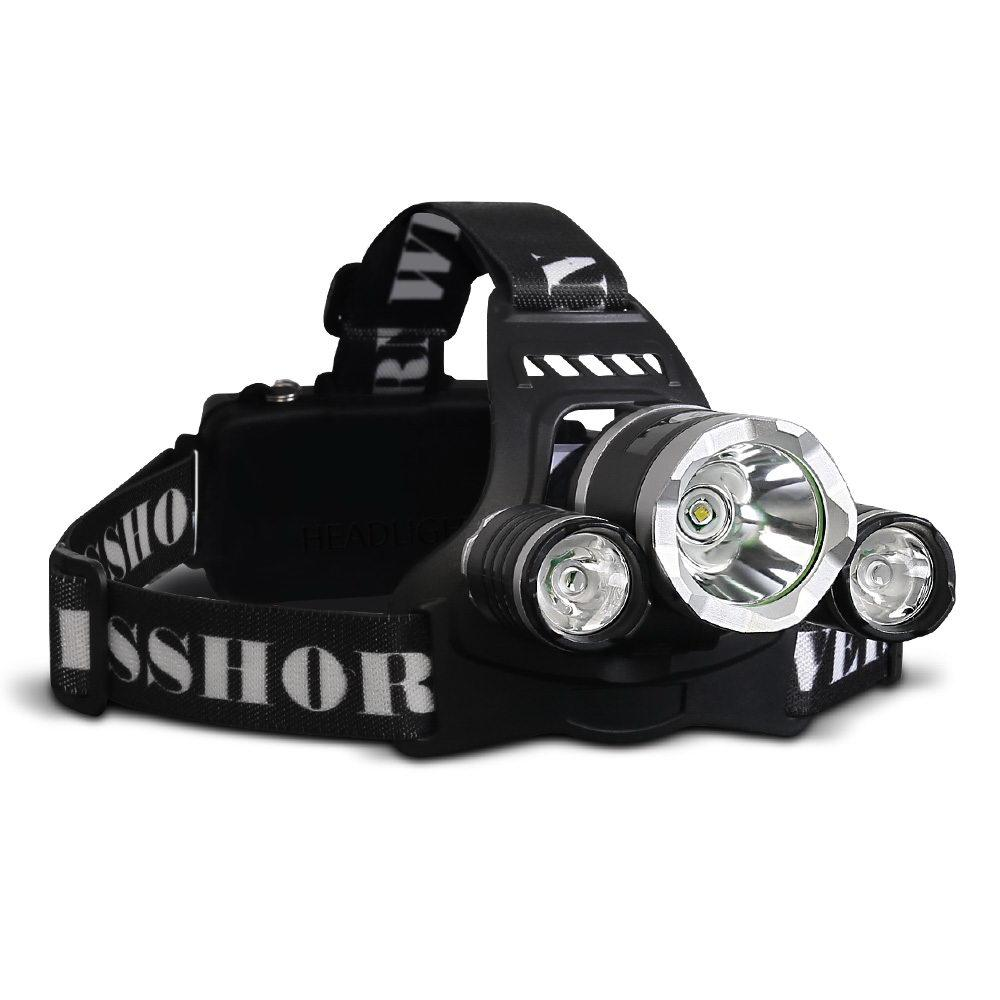 4 Mode LED Flash Torch Headlamp x 2