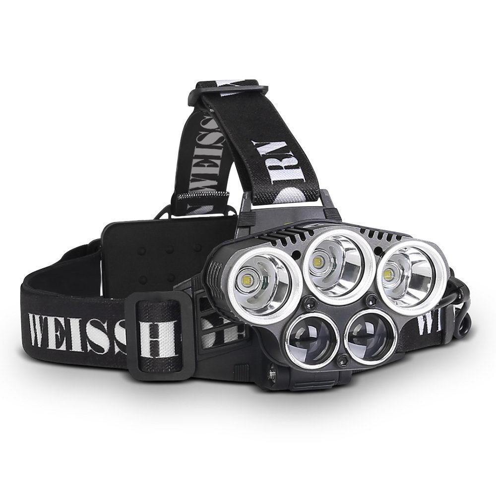 6 Mode LED Flash Torch Headlight