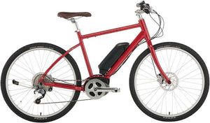 "Civia North Loop eBike: 26"" Wheels, Small Red"