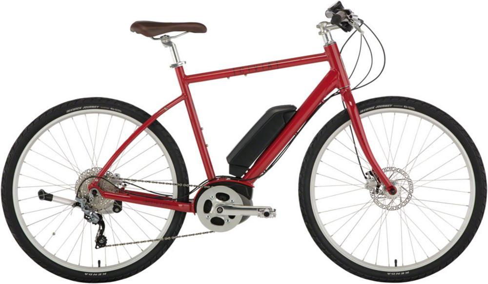 Civia North Loop eBike: 650b Wheels, Medium Red