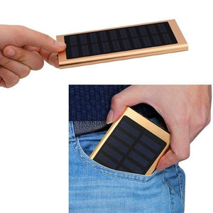 100,000mAh Waterproof Outdoor Emergency Camping LED Portable Solar Charger